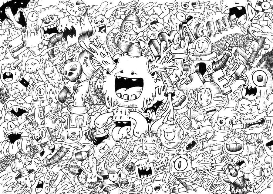 Doodle Imagine By RedStar94 On DeviantArt