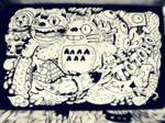 Totoro moleskine doodle