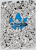 Adidas doodle design by RedStar94