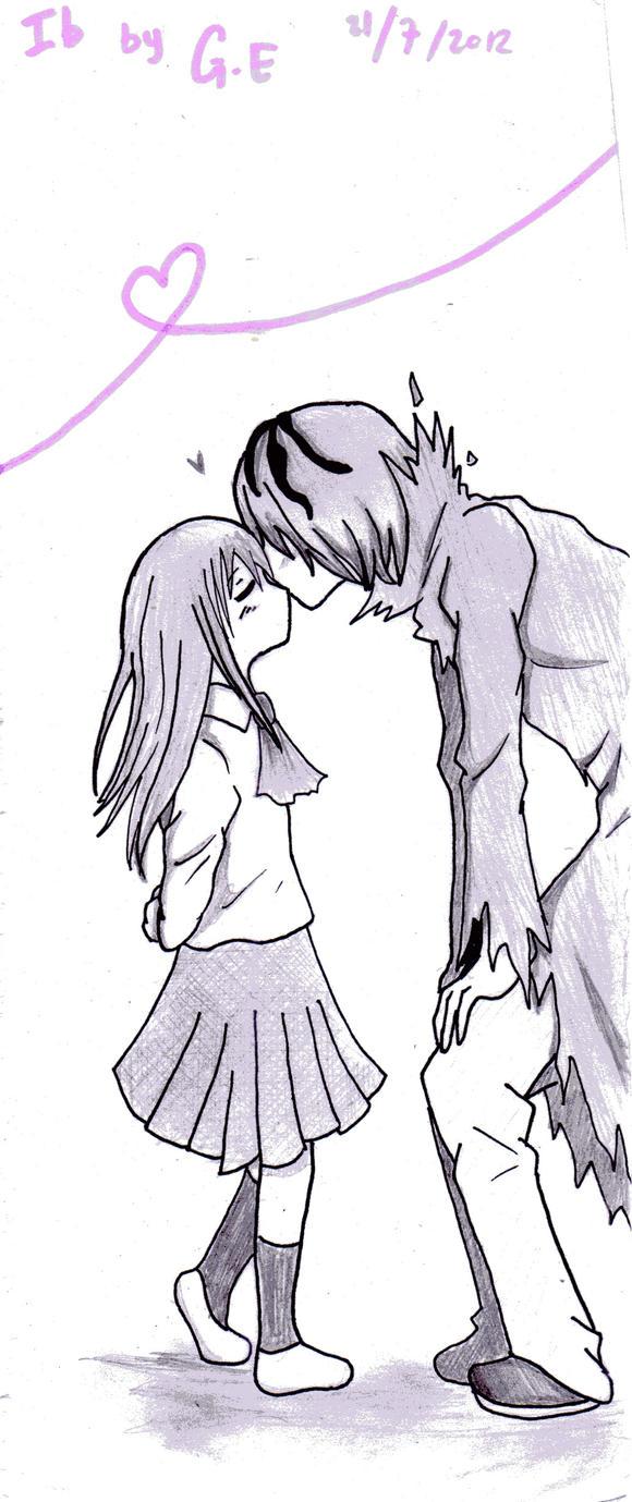 kiss in the cheek by GredellElle