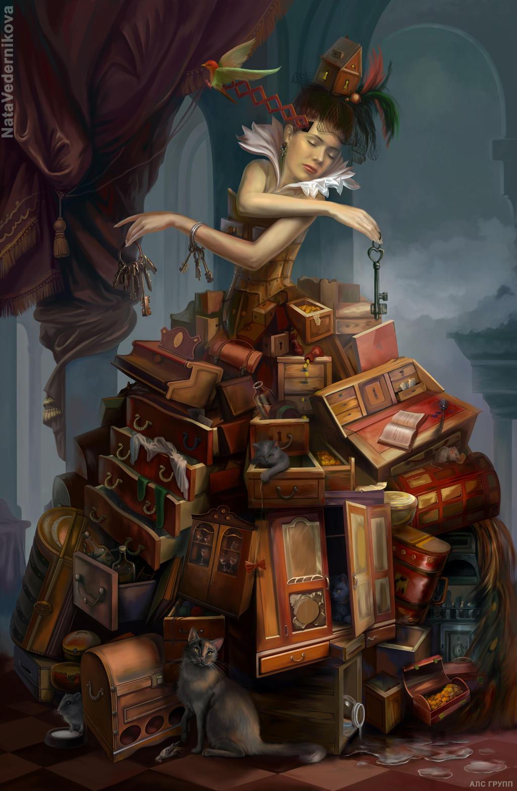 Secret box by NataVedernikova