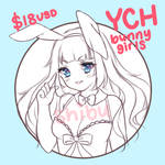 (YCH open) $18USD Bunny Costume by shibudesu