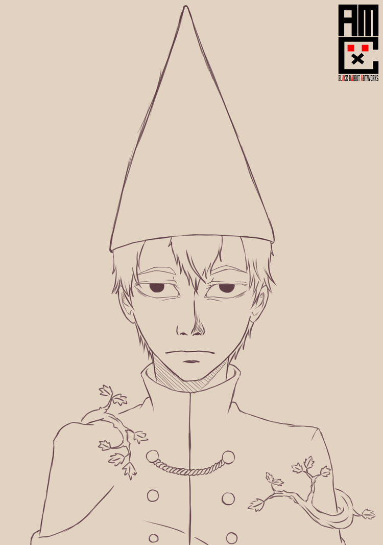 Wirt Line Art by blackrabbitartworks