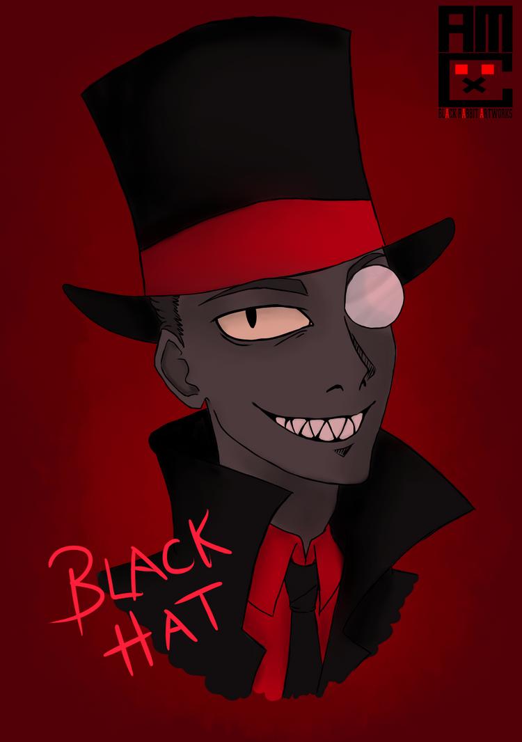Blackhat by blackrabbitartworks