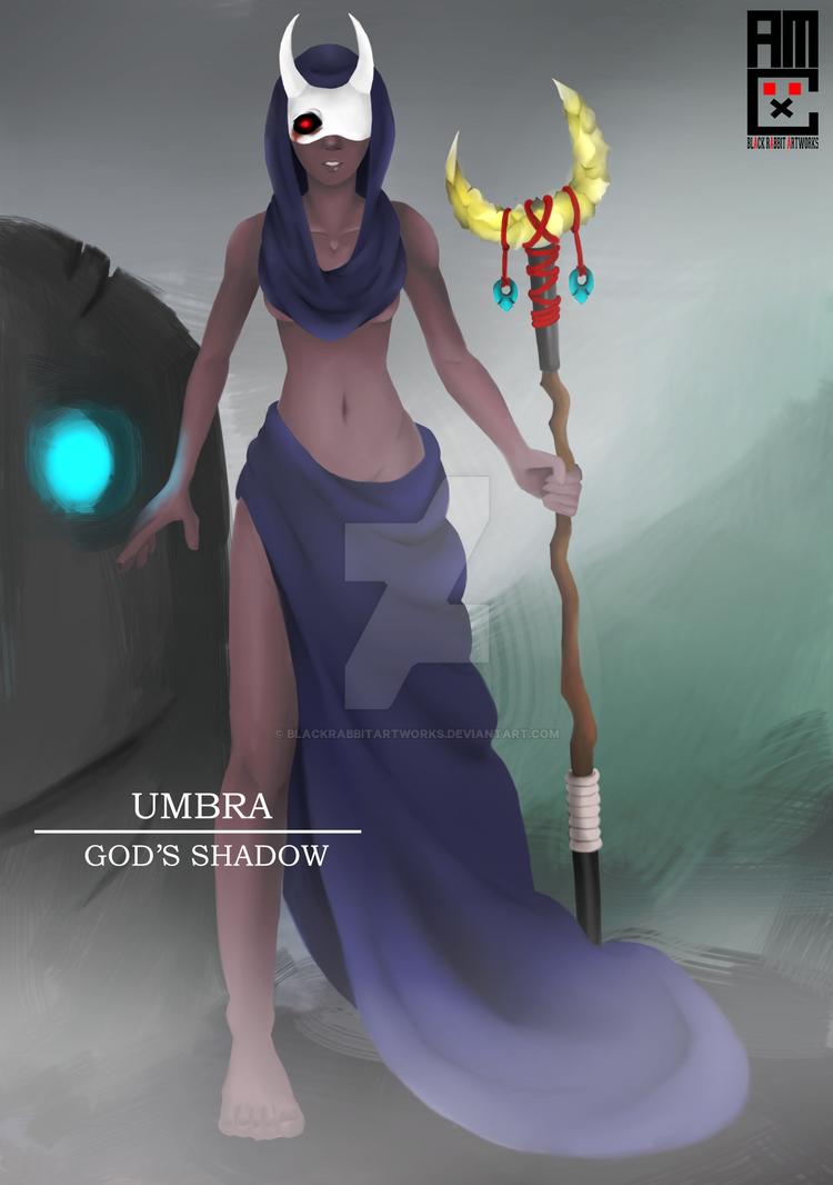 Umbra - God's Shadow by blackrabbitartworks