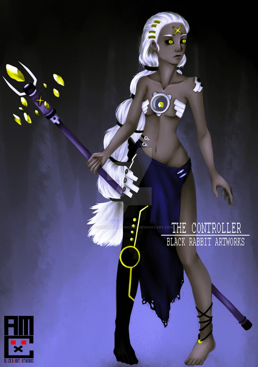 The Controller by blackrabbitartworks