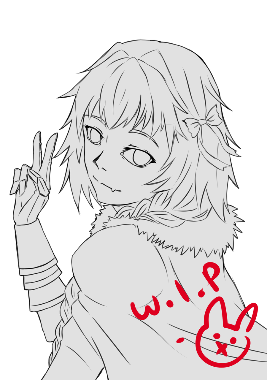 Astolfo [Work in Progress] by blackrabbitartworks