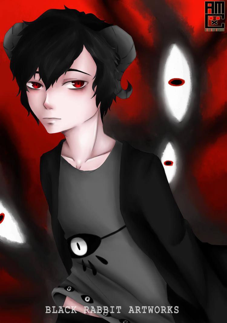 [Request] Damien by TakumixXx by blackrabbitartworks