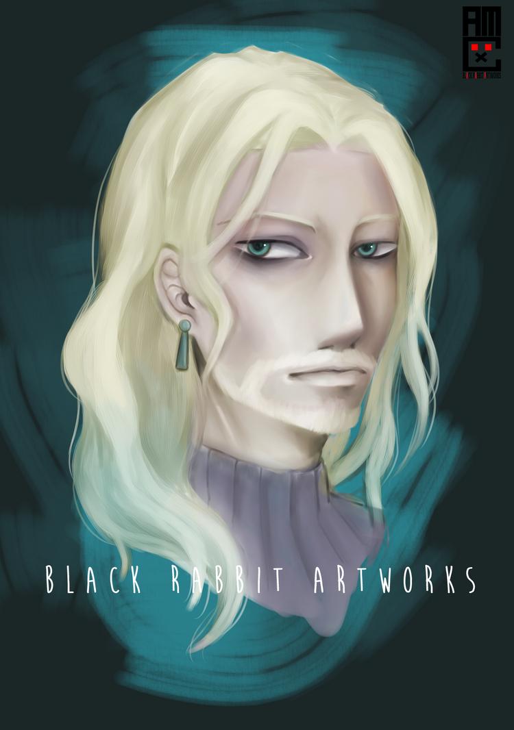 Vlad Portrait by blackrabbitartworks