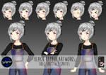 DDLC Sentience: Adult Natsuki by blackrabbitartworks