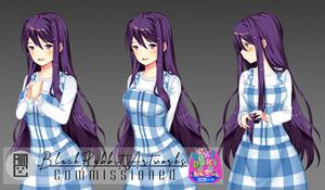 DDLC: Discord Club - Yuri sprites