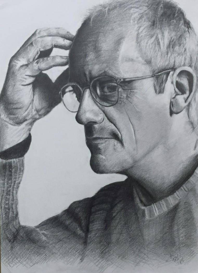 Christopher Lloyd portrait by nikgt