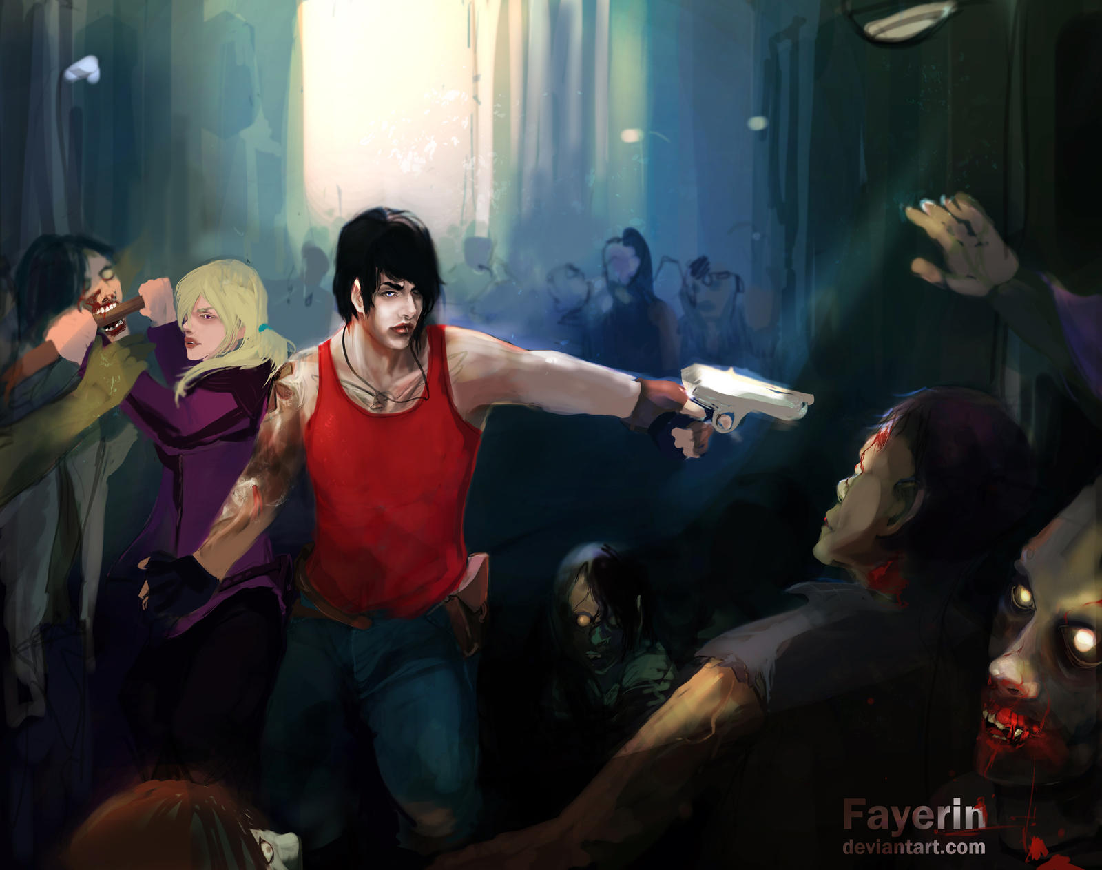 Get Alive by Fayerin