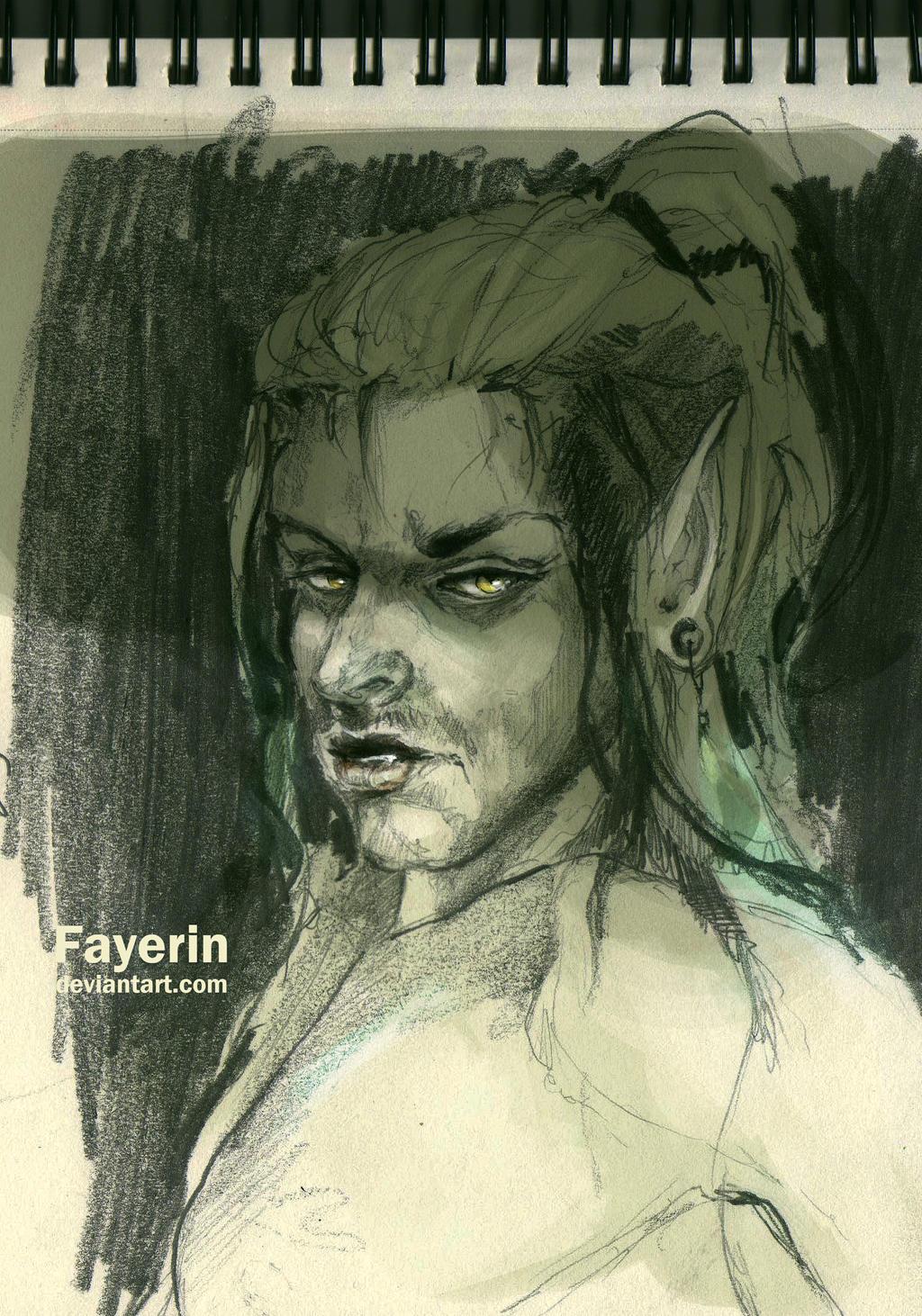 Jude Sketch by Fayerin