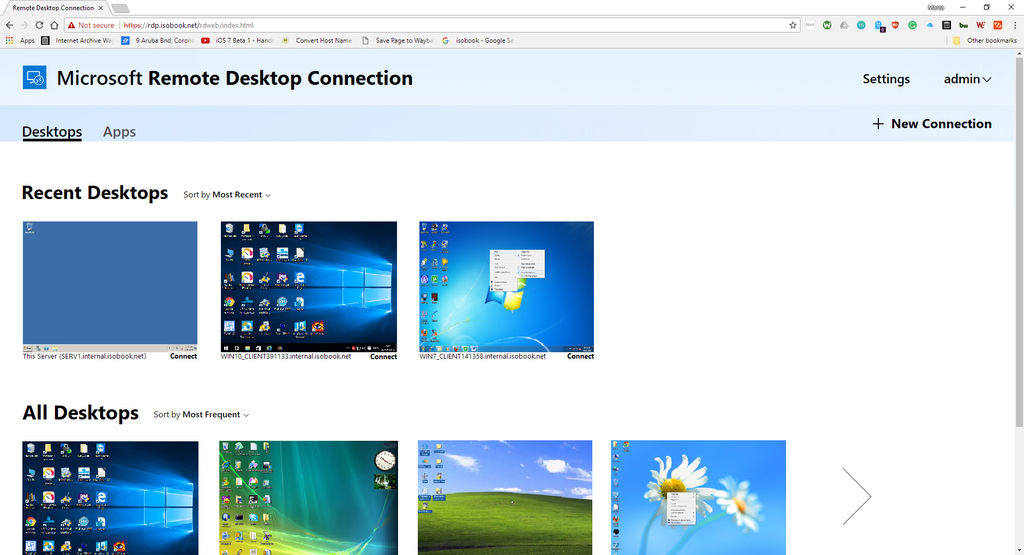 Home - Microsoft Remote Desktop Web Client by carmellolb on DeviantArt
