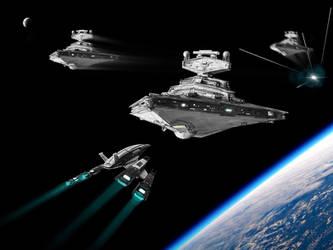 Star Wars, meet Mass Effect by Ckramen