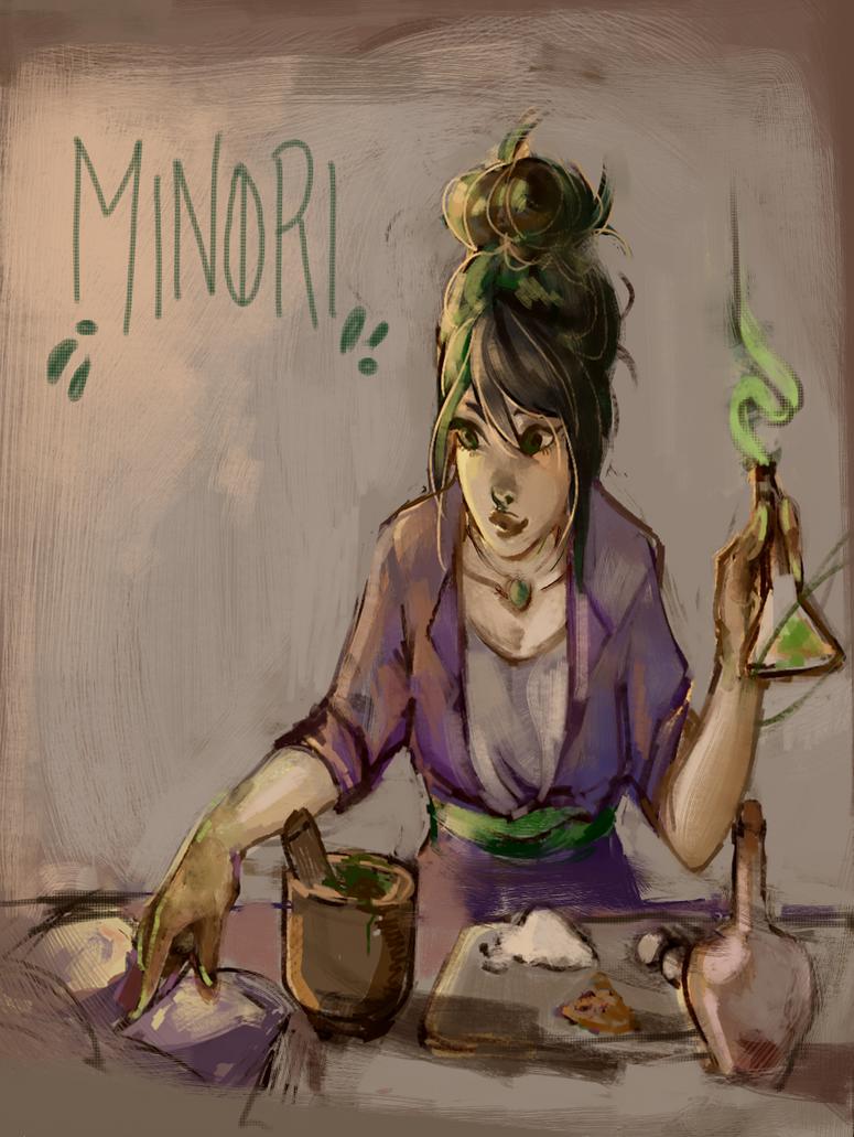 Midori by akaimoon33