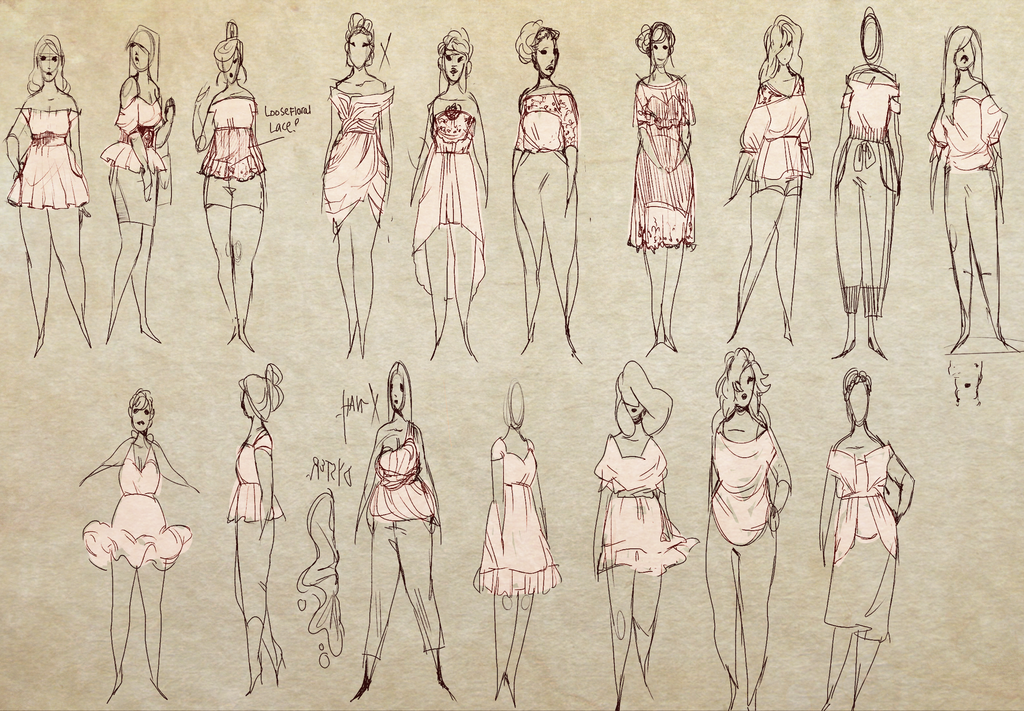 Dress Thumbnails by akaimoon33
