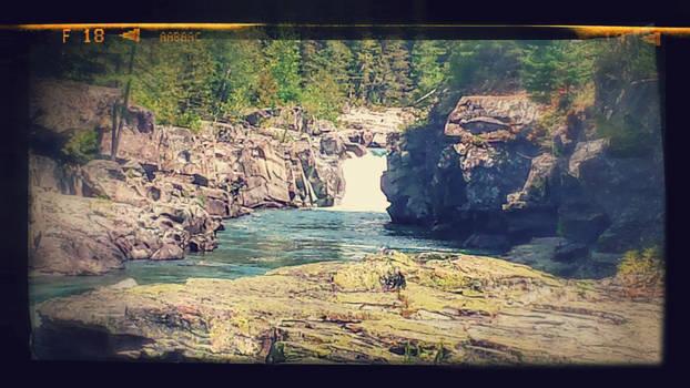 Flathead River tributary