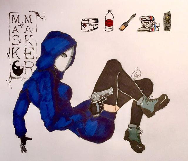 Mask Maker OC Revamp by XxJennaKittyxX