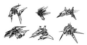 BW spaceships by SC4V3NG3R