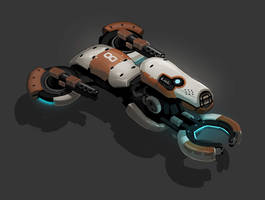 Hover AI drone Bike by SC4V3NG3R