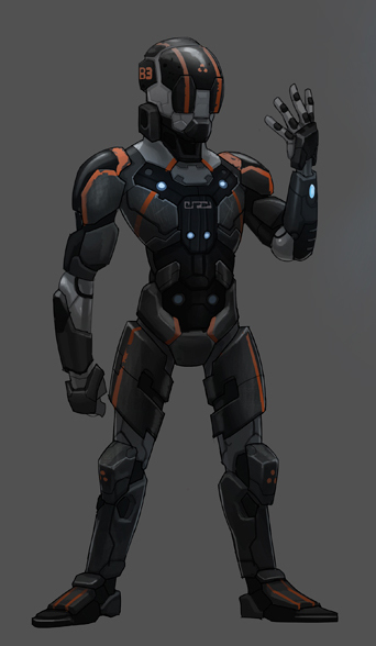 Exo suit concept by SC4V3NG3R