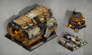 Hangar Barrack Bunker by SC4V3NG3R