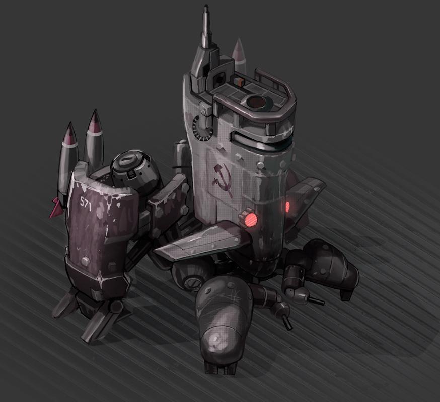 Soviet Sub Mech by SC4V3NG3R