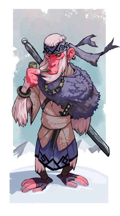 SnowMonkey ronin by SC4V3NG3R