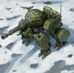 Soviet Grizzly Tank