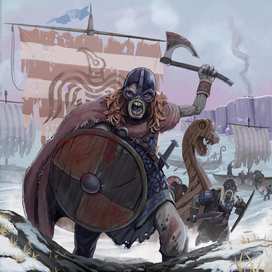 undead viking raid by sc4v3ng3r on deviantart