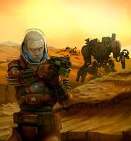 Unwelcoming Mars by SC4V3NG3R