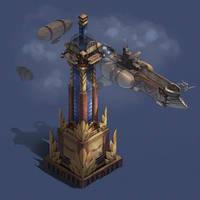 City of Gears: Airship Tower by SC4V3NG3R