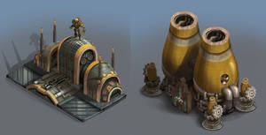 City of Gears: Factory and Power PLant