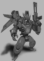 Dragon Mobile Suit by SC4V3NG3R