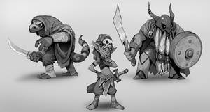 Tiny Dungeon Characters
