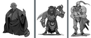 Tiny Dungeon Characters 2 by SC4V3NG3R