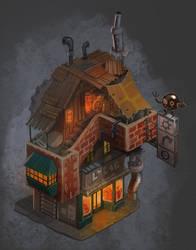 City of Gears: Junk Shop by SC4V3NG3R