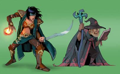 Magical Duo 2 by SC4V3NG3R