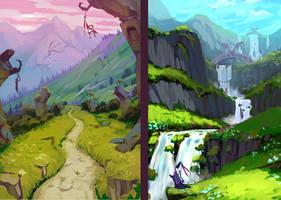 Fantasy Lands practice by SC4V3NG3R