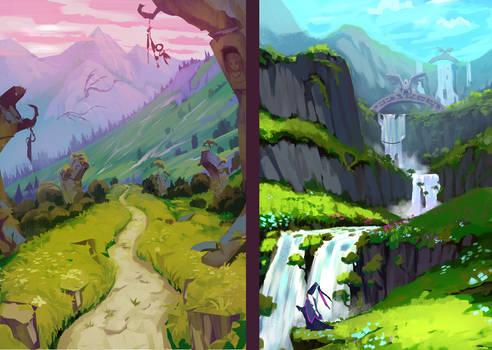 Fantasy Lands practice