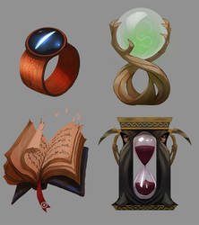 Fantasy Realms Objects