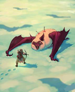 Snow Bat hunt