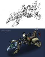 Futurist Harley by SC4V3NG3R