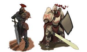 2 knights