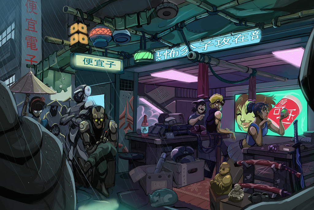 Cyber SHop by SC4V3NG3R