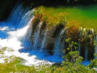 Waterfall of Krka by Moonbird9