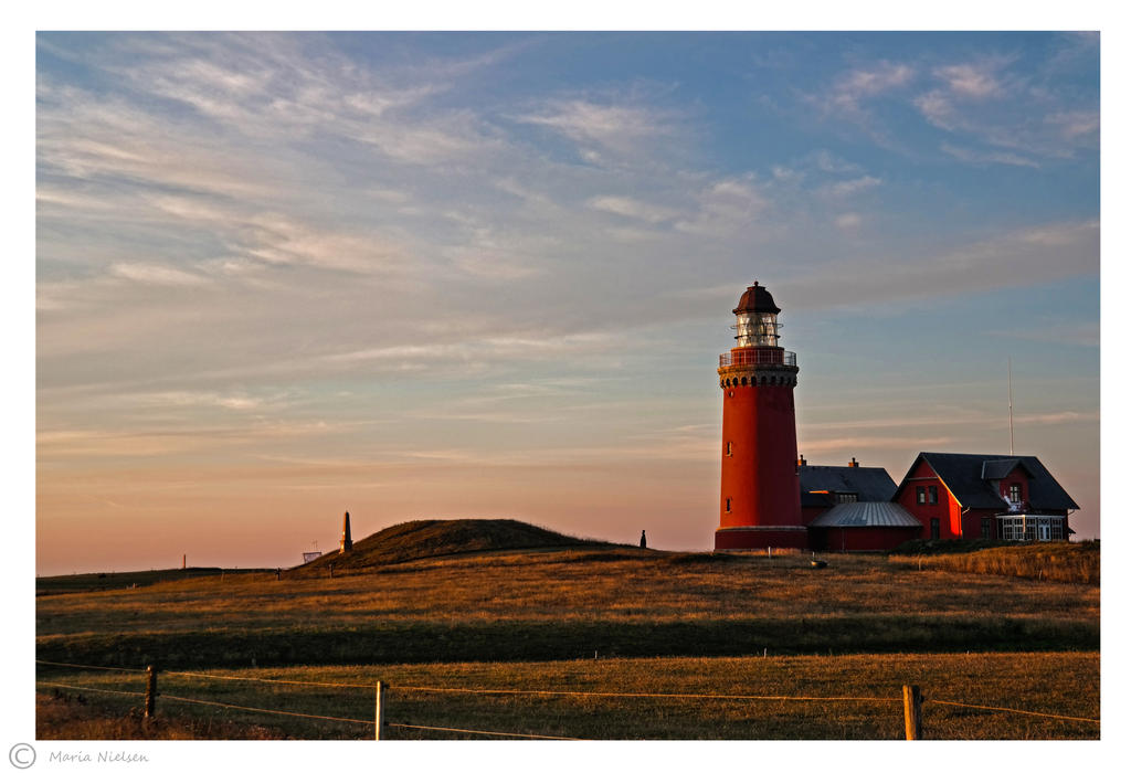 Bovbjerg Lighthouse by Moonbird9
