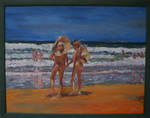Couples,Samurai Beach,Anna Bay by Jo-in-Sydney